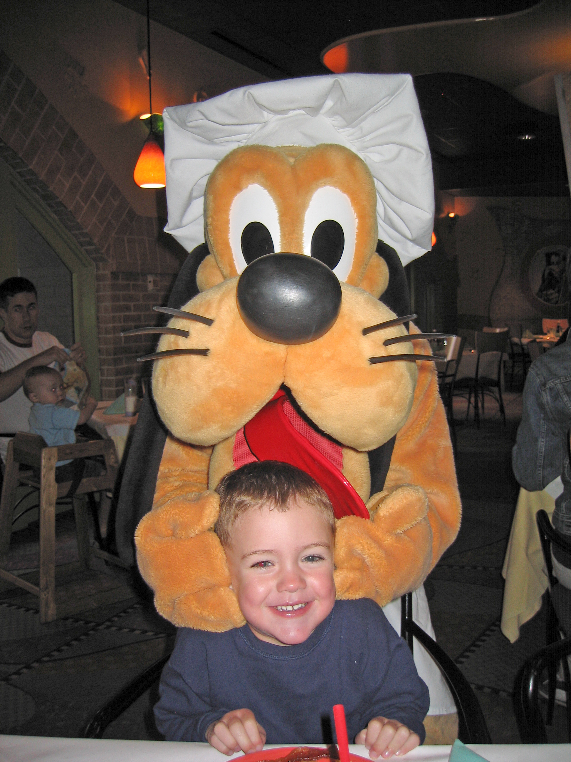 Connor and Pluto