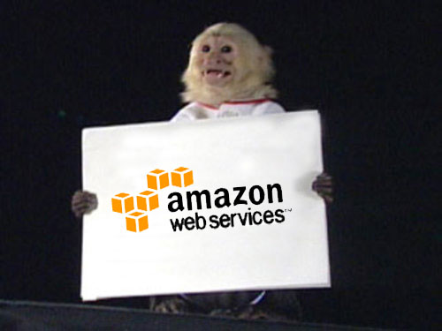 The GeoMonkey is a huge supporter of Amazon Web Services