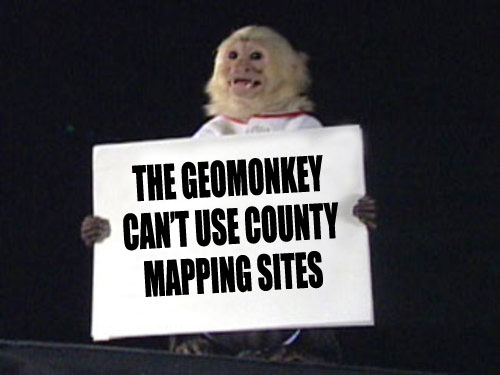 Wont someone please think of the GeoMonkey?