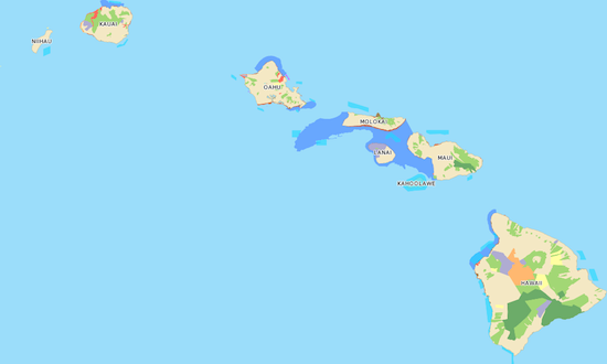 Hawaiian Natural Areas
