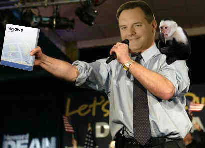 James seems to be pushing ArcGIS Server again