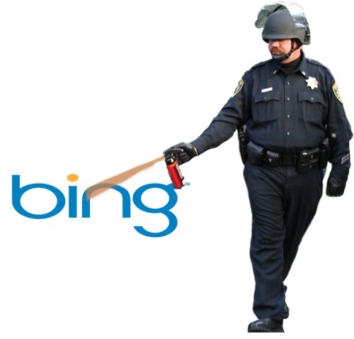 Bing Maps Pepper Spray