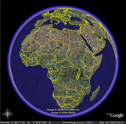 Ordinary Google Earth