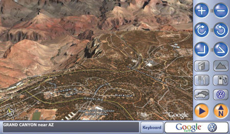 Google Earth Navigation