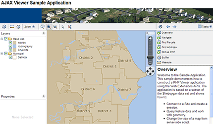 MapGuide Open Source AJAX Viewer