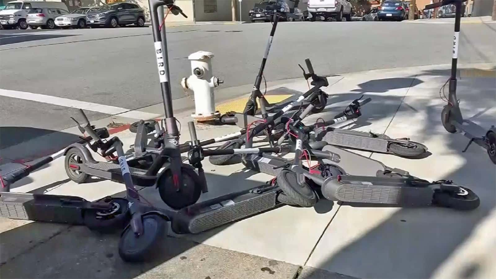 Scooters in SFO