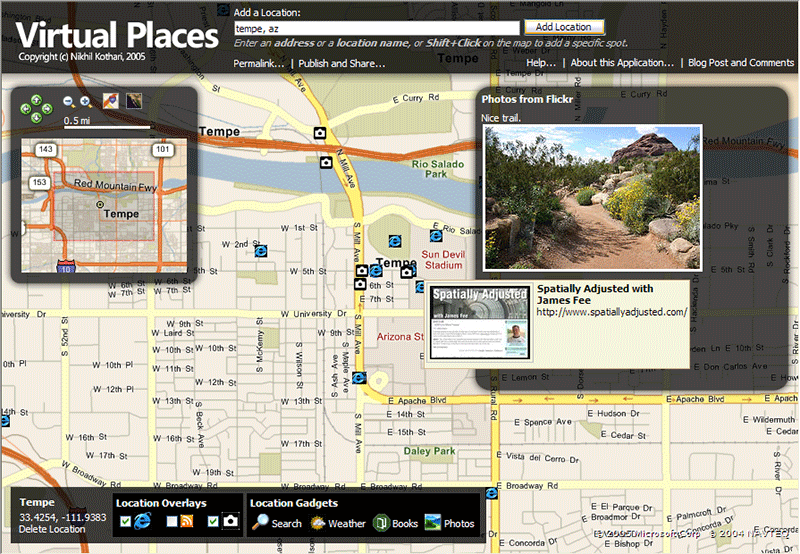 VirtualPlaces