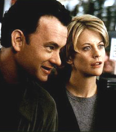 Joe Fox: You've got mail.  Kathleen Kelly: Yes.  Joe Fox: Three very powerful words.